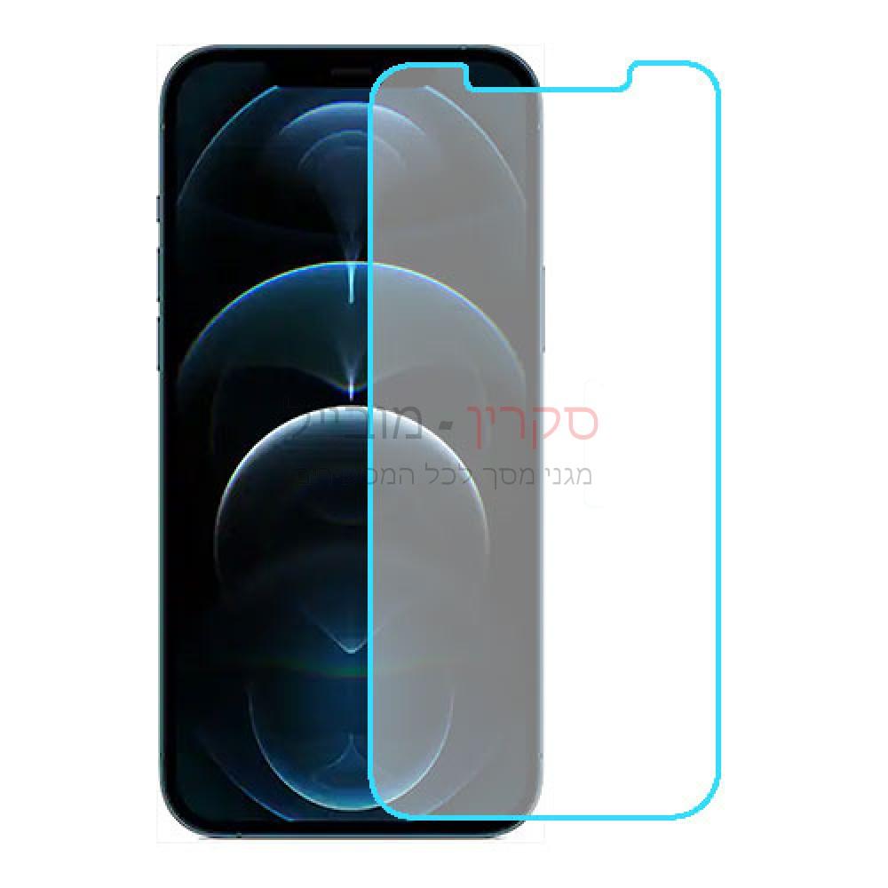 Apple iPhone 12 Pro Max מגן מסך נאנו זכוכית 9H יחידה אחת סקרין מוביל