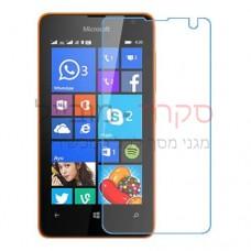 Microsoft Lumia 430 Dual SIM מגן מסך נאנו זכוכית 9H יחידה אחת סקרין מוביל