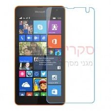 Microsoft Lumia 535 Dual SIM מגן מסך נאנו זכוכית 9H יחידה אחת סקרין מוביל