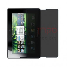 BlackBerry 4G Playbook HSPA+ מגן מסך הידרוג'ל פרטיות (סיליקון) יחידה אחת סקרין מובייל