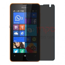 Microsoft Lumia 430 Dual SIM מגן מסך הידרוג'ל פרטיות (סיליקון) יחידה אחת סקרין מובייל