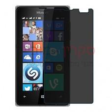Microsoft Lumia 435 Dual SIM מגן מסך הידרוג'ל פרטיות (סיליקון) יחידה אחת סקרין מובייל