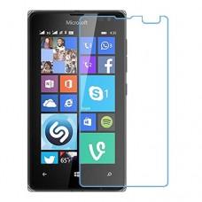 Microsoft Lumia 435 Dual SIM מגן מסך נאנו זכוכית 9H יחידה אחת סקרין מוביל