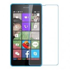 Microsoft Lumia 540 Dual SIM מגן מסך נאנו זכוכית 9H יחידה אחת סקרין מוביל