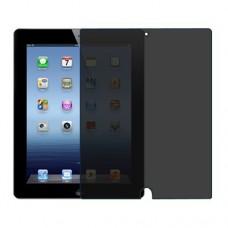Apple iPad 3 מגן מסך הידרוג'ל פרטיות (סיליקון) יחידה אחת סקרין מובייל