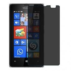 Microsoft Lumia 435 מגן מסך הידרוג'ל פרטיות (סיליקון) יחידה אחת סקרין מובייל