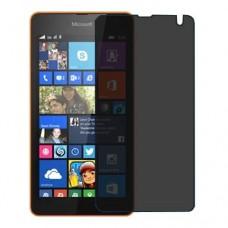Microsoft Lumia 535 Dual SIM מגן מסך הידרוג'ל פרטיות (סיליקון) יחידה אחת סקרין מובייל