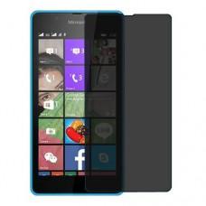 Microsoft Lumia 540 Dual SIM מגן מסך הידרוג'ל פרטיות (סיליקון) יחידה אחת סקרין מובייל