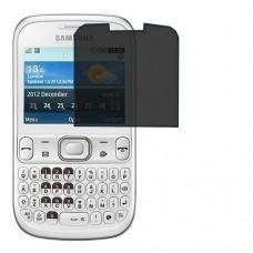 Samsung Chat 333 מגן מסך הידרוג'ל פרטיות (סיליקון) יחידה אחת סקרין מובייל