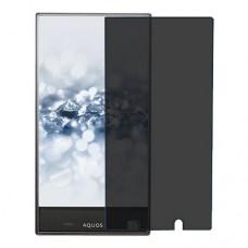 Sharp Aquos Crystal 2 מגן מסך הידרוג'ל פרטיות (סיליקון) יחידה אחת סקרין מובייל