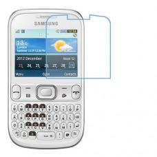 Samsung Chat 333 מגן מסך נאנו זכוכית 9H יחידה אחת סקרין מוביל