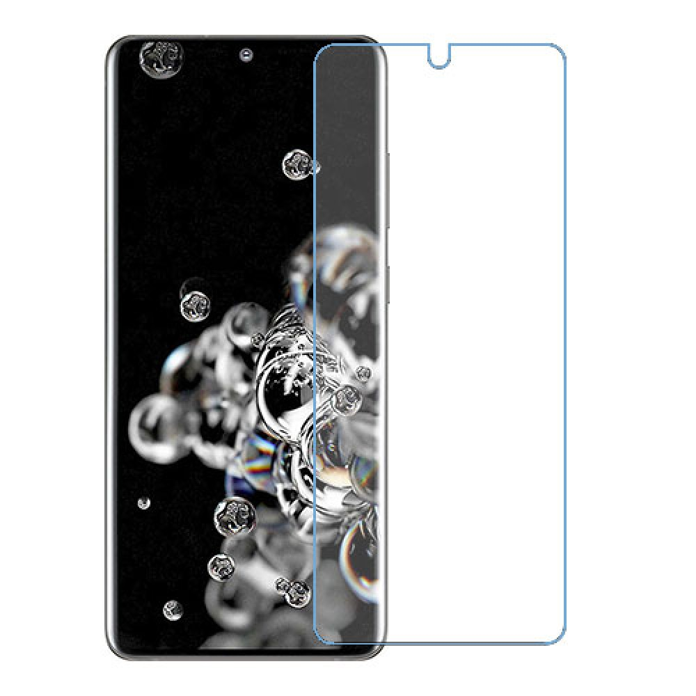 Samsung Galaxy S20 Ultra 5G מגן מסך נאנו זכוכית 9H יחידה אחת סקרין מוביל