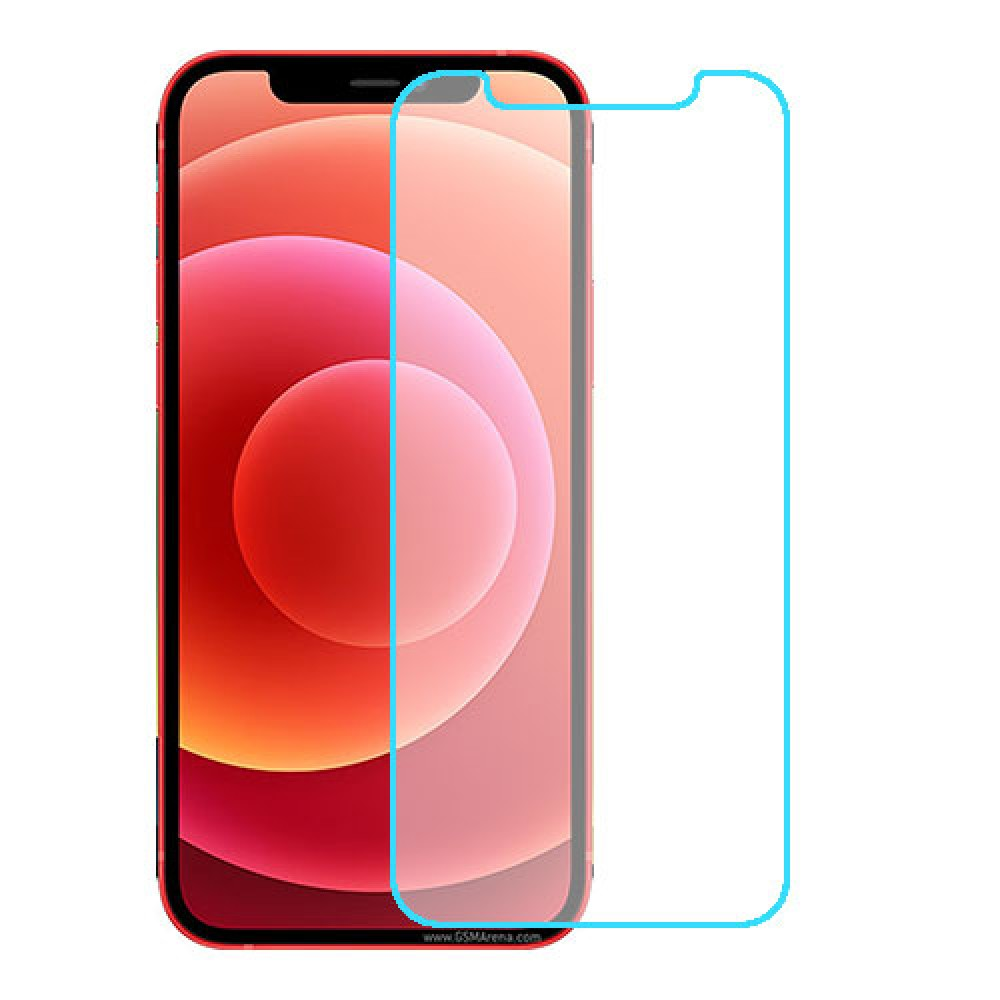 Apple iPhone 12 מגן מסך נאנו זכוכית 9H יחידה אחת סקרין מוביל