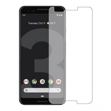 Google Pixel 3 מגן מסך הידרוג'ל שקוף (סיליקון) יחידה אחת סקרין מובייל