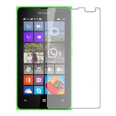 Microsoft Lumia 435 Dual SIM מגן מסך הידרוג'ל שקוף (סיליקון) יחידה אחת סקרין מובייל