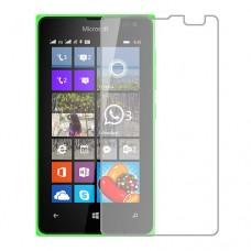 Microsoft Lumia 435 מגן מסך הידרוג'ל שקוף (סיליקון) יחידה אחת סקרין מובייל