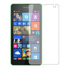 Microsoft Lumia 535 Dual SIM מגן מסך הידרוג'ל שקוף (סיליקון) יחידה אחת סקרין מובייל