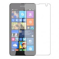 Microsoft Lumia 535 מגן מסך הידרוג'ל שקוף (סיליקון) יחידה אחת סקרין מובייל