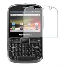 Motorola Defy Pro XT560 מגן מסך הידרוג'ל שקוף (סיליקון) יחידה אחת סקרין מובייל